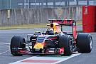 Red Bull prosigue con el test de los neumáticos para 2017