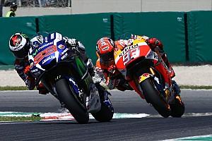 MotoGP Noticias Márquez y Lorenzo comparten pista de entrenamiento en Alcarràs