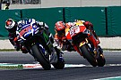 Márquez y Lorenzo comparten pista de entrenamiento en Alcarràs