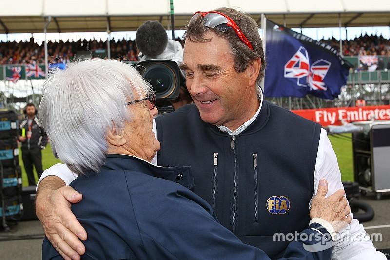 El mundo de automovilismo celebra cumpleaños de Mansell