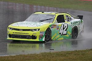 NASCAR Xfinity Rennbericht Regen in Mid-Ohio: Justin Marks gewinnt Xfinity-Eiertanz