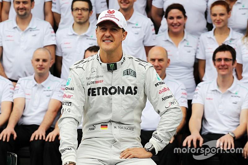 """Montezemolo: """"Ho saputo che Schumacher sta reagendo"""""""