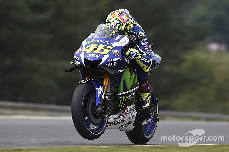 Valentino Rossi: Renntempo von Marquez