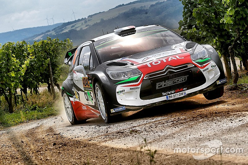 Lefebvre y su copiloto sufren fracturas tras su accidente en el Rally de Alemania