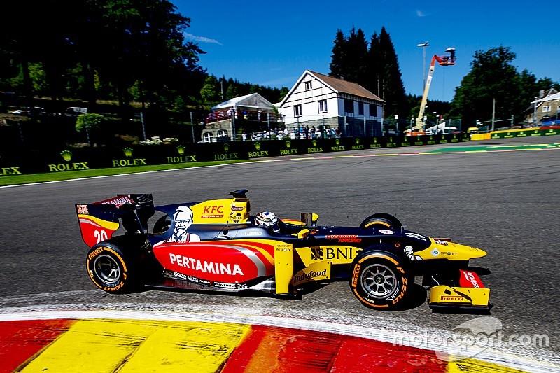 GP2 Spa: Giovinazzi pakt pole ten koste van Gasly, Sirotkin slechts 13e