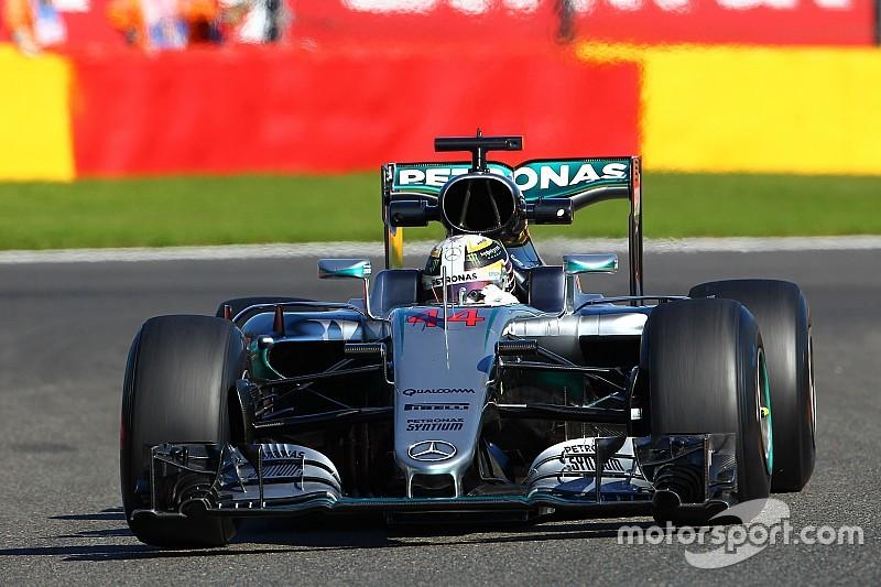 Hamilton: otro cambio de motor y 55 puestos de penalización