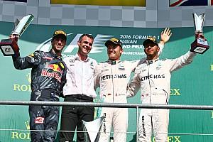 F1 Reporte de la carrera Rosberg se llevó la victoria en el GP de Bélgica