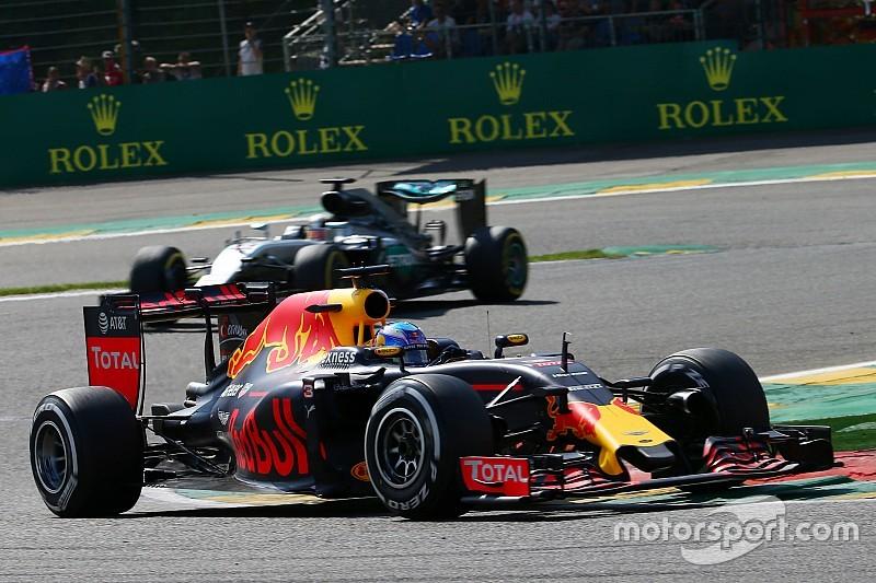 La bandera roja salvó el podio de Daniel Ricciardo
