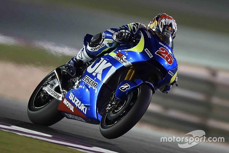 Tes MotoGP Qatar: Vinales kembali jadi bintang