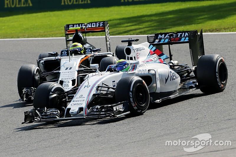 Force India: Williams darf man nicht unterschätzen