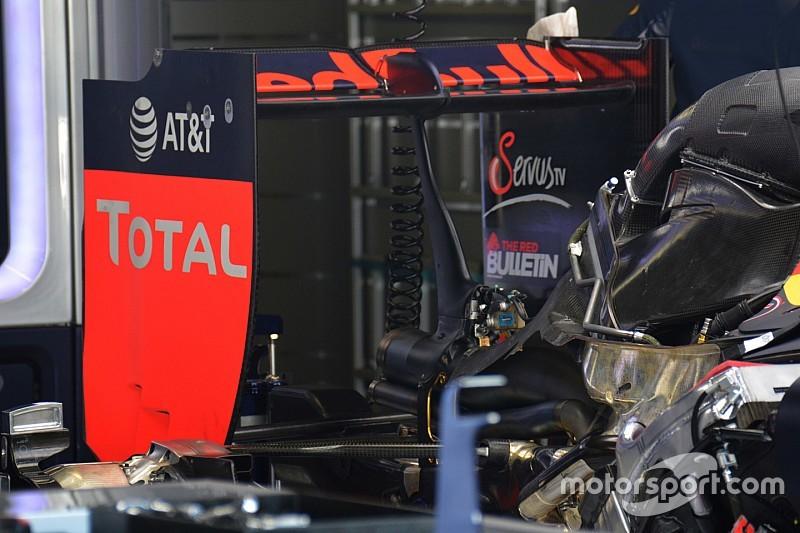Breve análisis técnico: alerón trasero Red Bull RB12