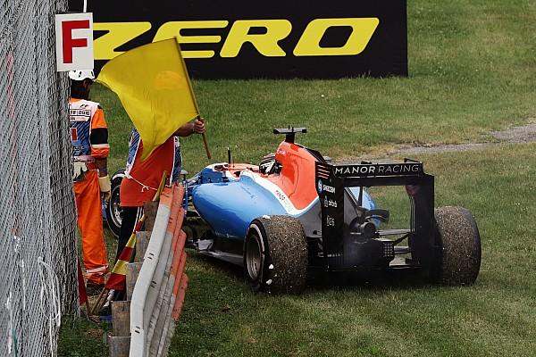 Pascal Wehrlein nach Ausfall in Monza: