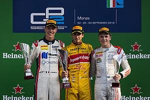 FIA F2 Rennbericht GP2 Monza: Giovinazzi und Nato siegen, Gasly verteidigt Führung