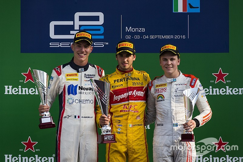 GP2 Monza: Giovinazzi und Nato siegen, Gasly verteidigt Führung