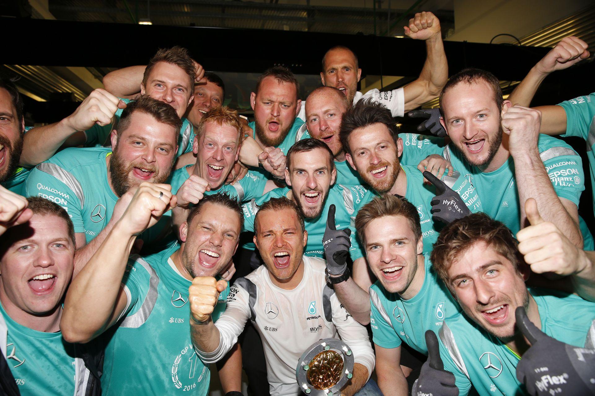 Rosberg a régi időkre emlékezik: nagyon boldog