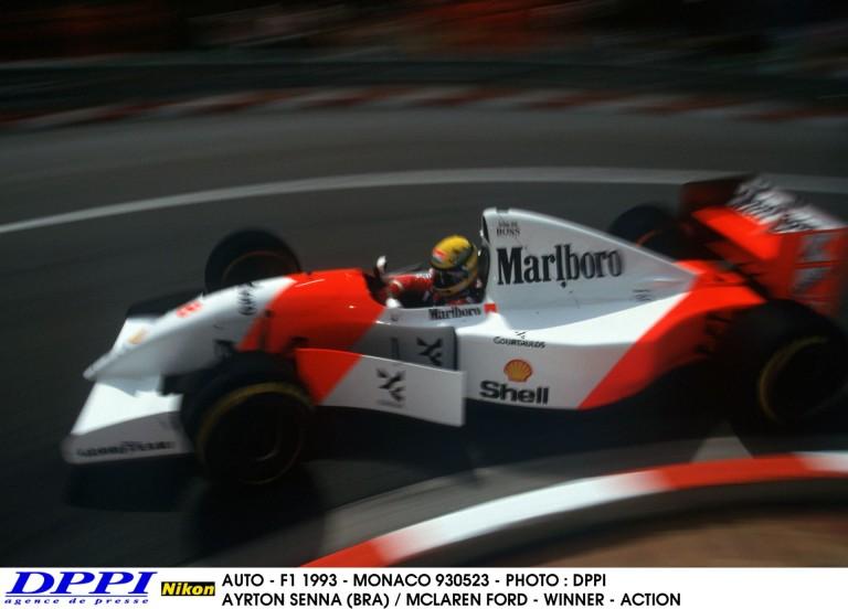 Ayrton Senna minden idők legjobbja Monacóban!