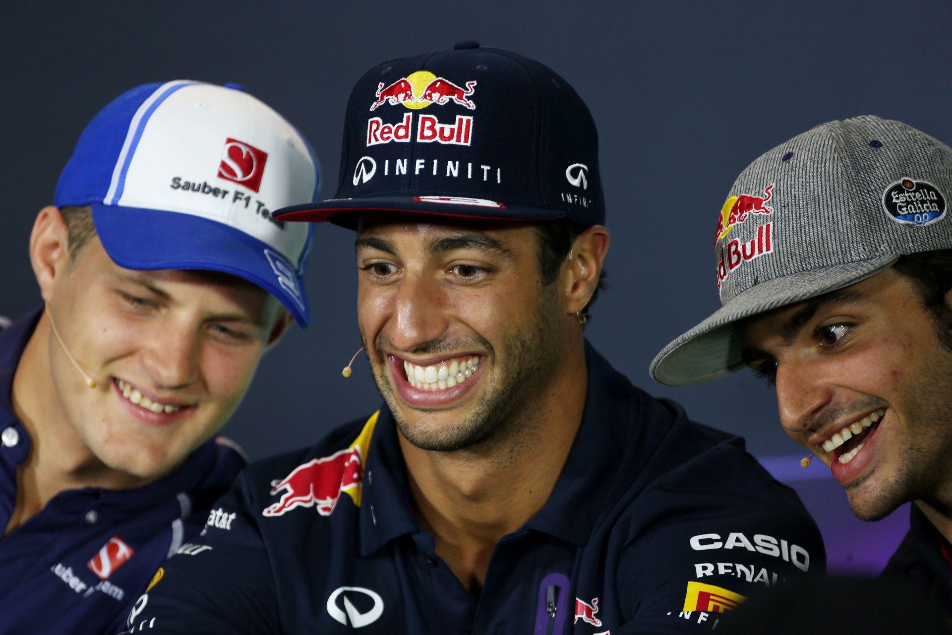 Ricciardo már New Yorkban nevetgél: ennyi volt a dráma?