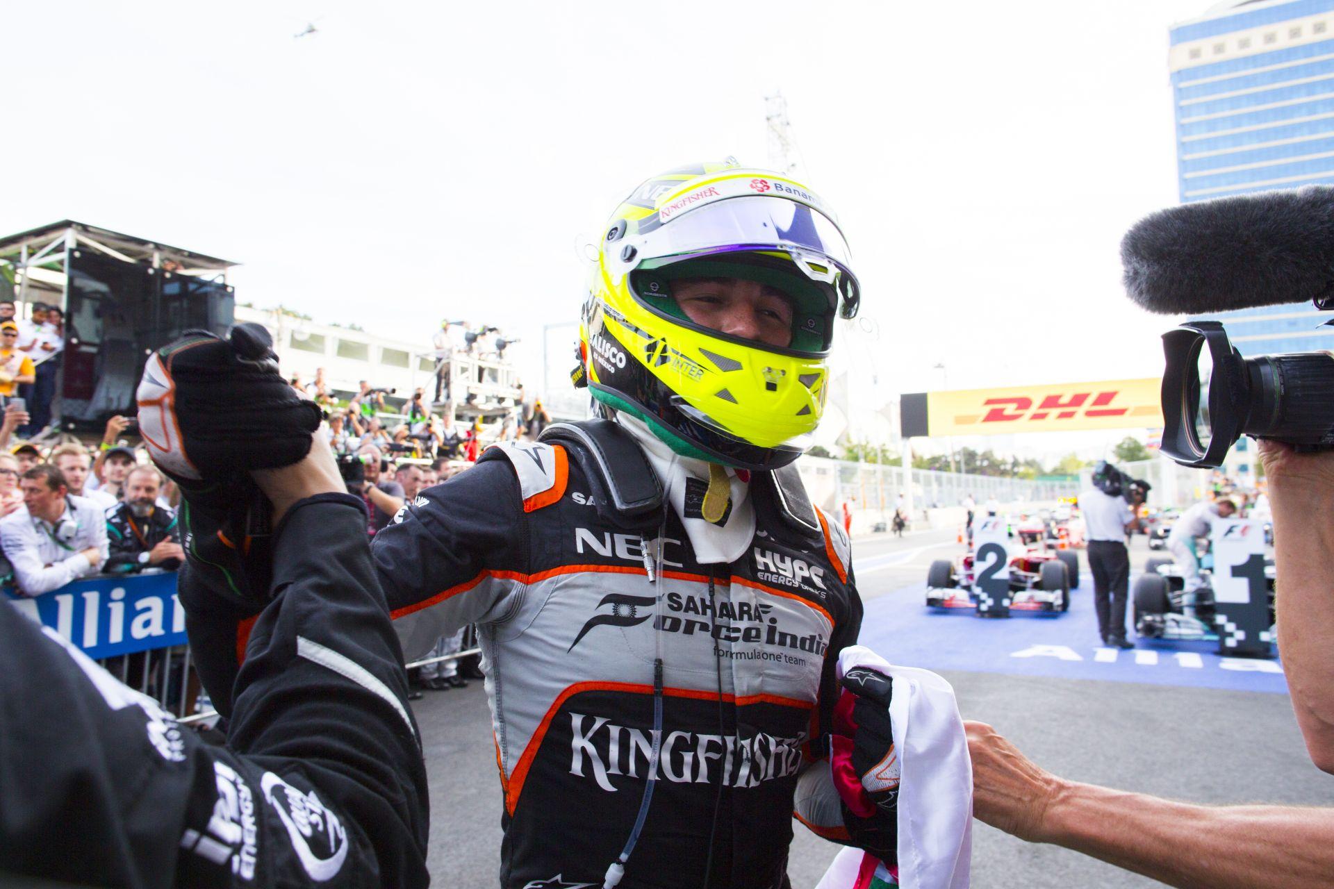 Pérez a Nap versenyzője az F1.com szavazása alapján!
