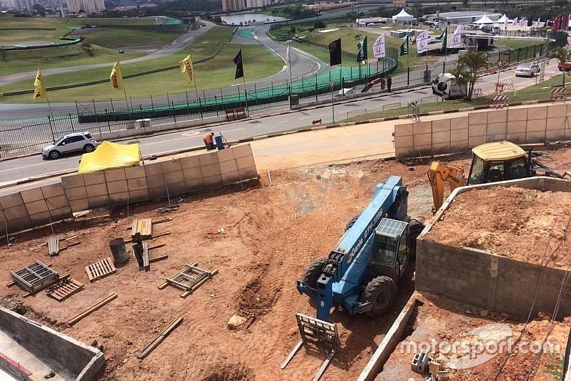 Bildergalerie: Bauarbeiten in Interlagos