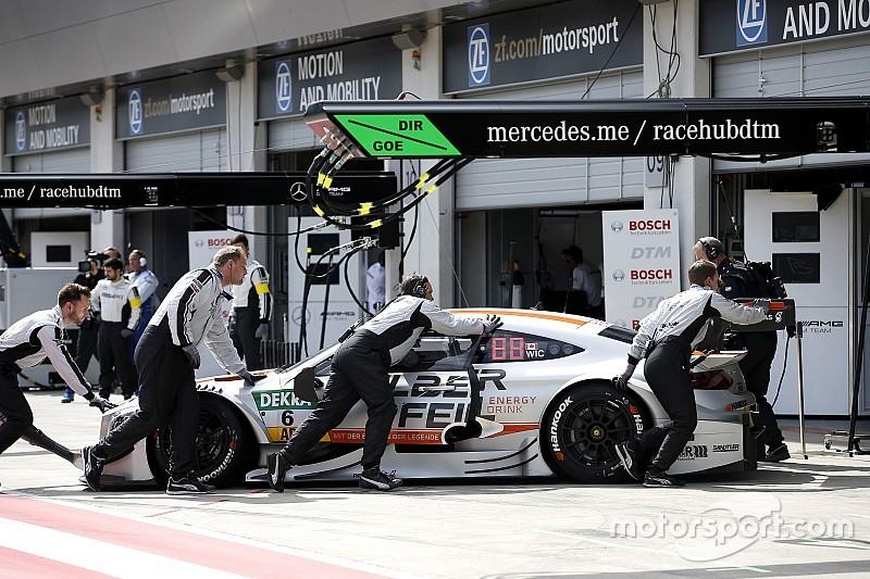 """""""Vieles schiefgelaufen"""": Rückschlag für Mercedes im DTM-Titelkampf"""