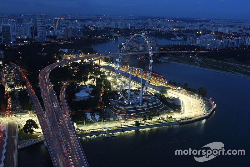 Los horarios del GP de Singapur