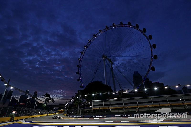 Rosberg fue el más veloz y Hamilton tuvo problemas en la FP2