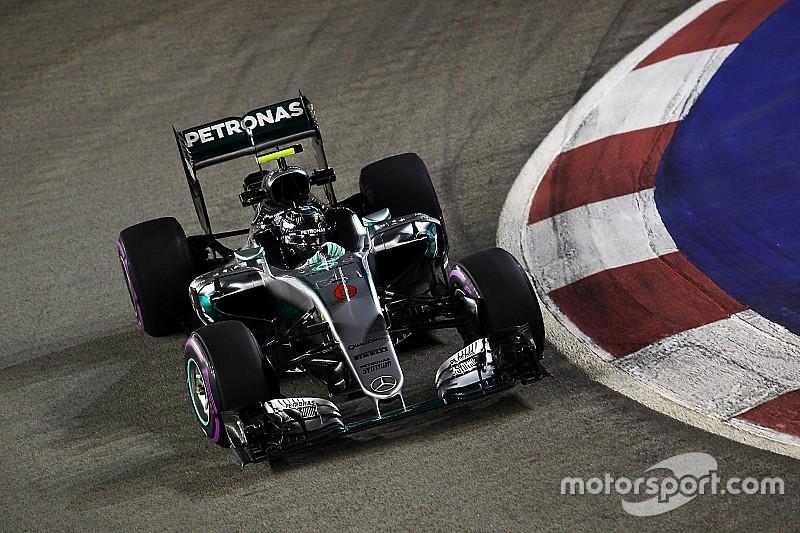 Rosberg bate a Verstappen en los últimos entrenamientos libres