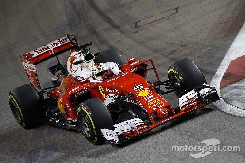 维特尔或在新加坡正赛使用新引擎