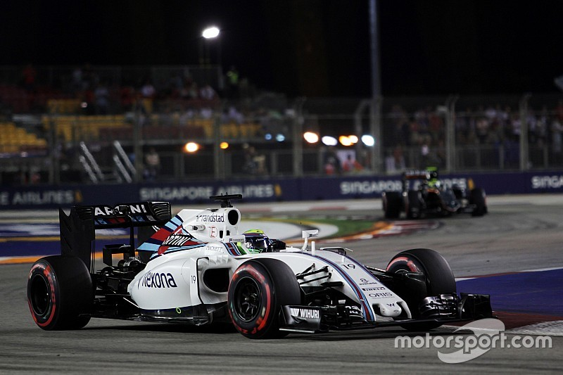 Formel 1 in Singapur: Williams sieht Force India nicht als einzigen Konkurrenten