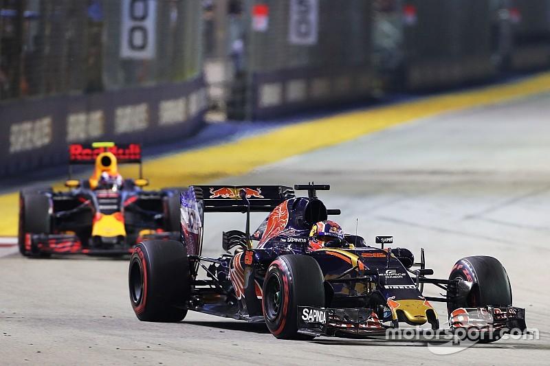Formel 1 in Singapur: Keine Teamorder für Daniil Kvyat, Max Verstappen vorbeizulassen