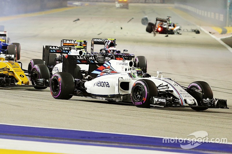 Massa lamenta estrategia de Williams
