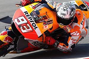 MotoGP Отчет о тренировке Маркес задал темп в первой тренировке в Арагоне