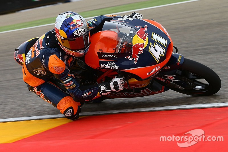 Binder stelt tijdens tweede GP Aragon-training orde op zaken
