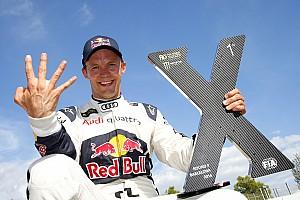 World Rallycross 突发新闻 埃克斯托姆放弃DTM收官战,全力争夺WRX世界冠军头衔