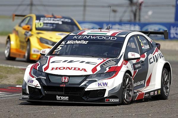WTCC Shanghai: Honda memenangkan MAC3 setelah mobil Citroen Bennani gagal start
