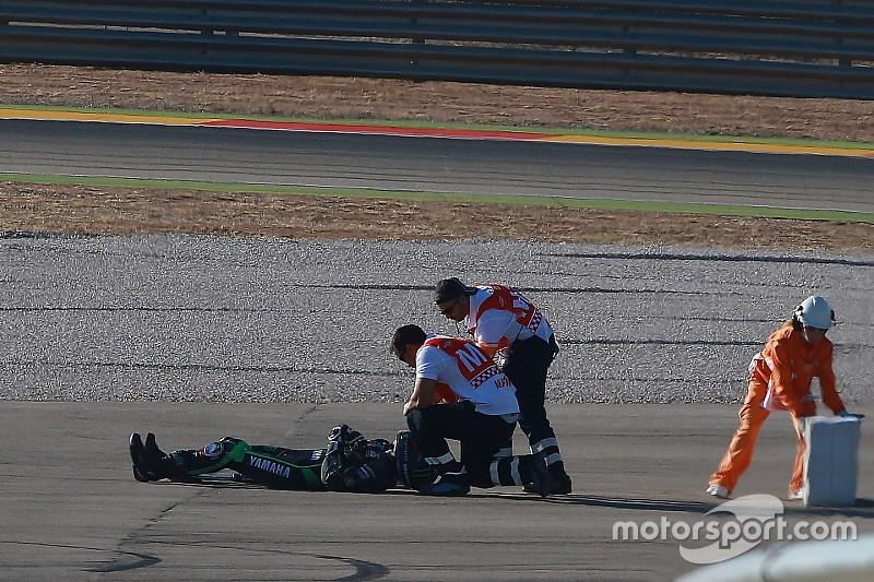 Лоус пропустить гонку в Арагоні