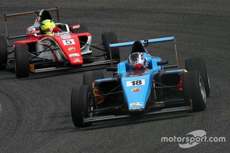 Marcos Siebert mantiene el liderato en la F4 Italiana