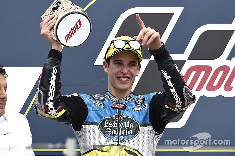 Alex Márquez volvió al podio 32 carreras después
