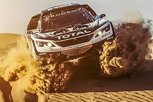 Rallye-Raid Actualités La 3008 DKR prête pour ses grands débuts au Maroc