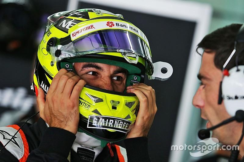 Sergio Perez resmi bertahan di Force India