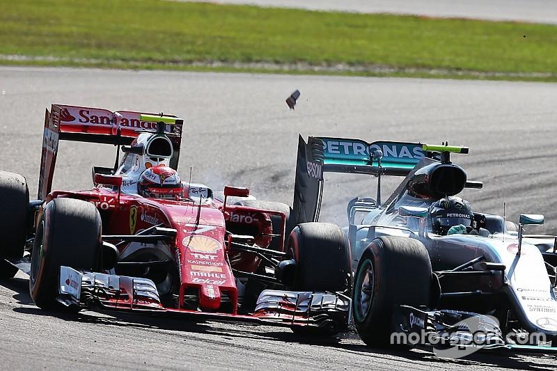 """Arrivabene: """"Kimi aveva perso 10 punti di carico aerodinamico"""""""