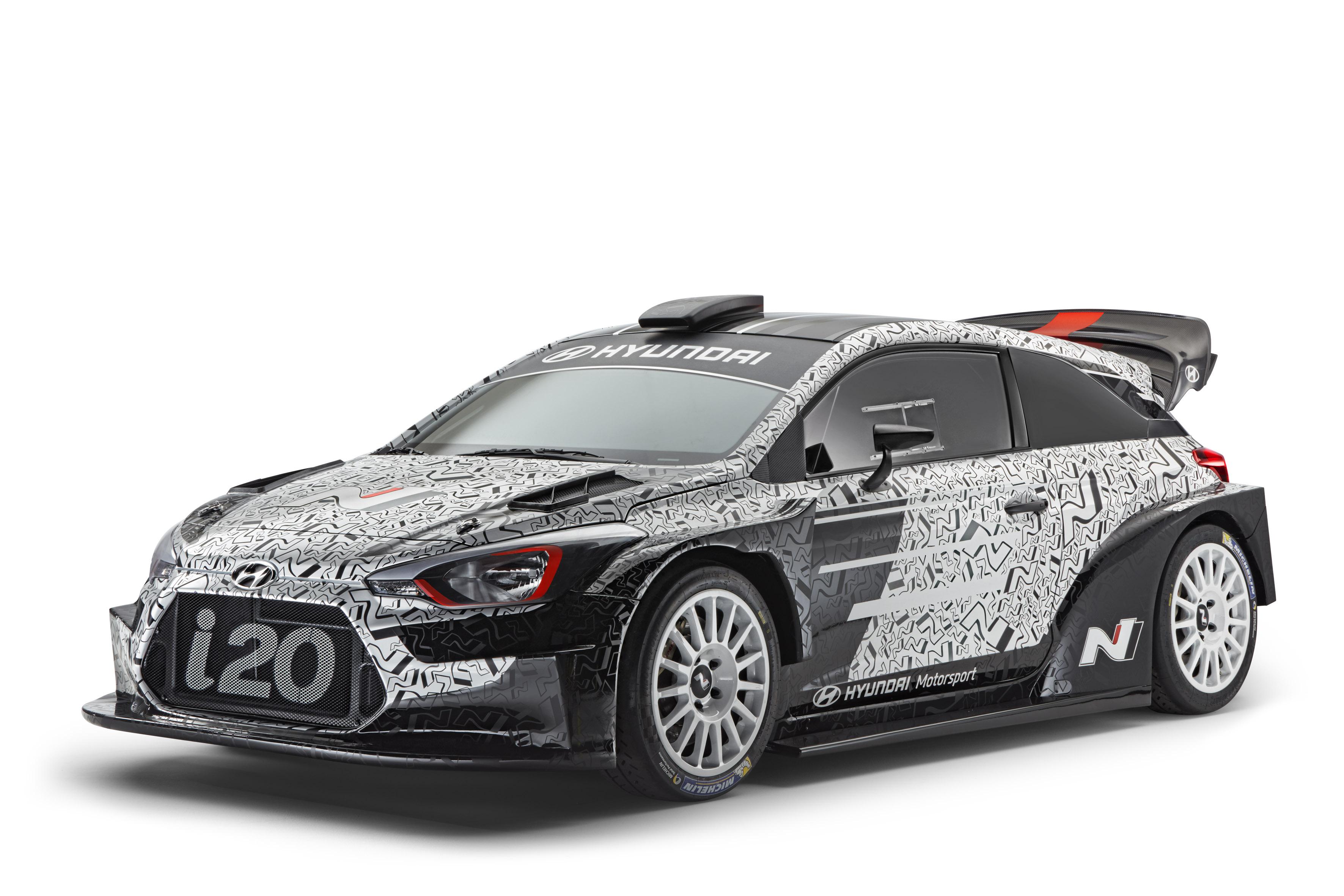 A Hyundai is leleplezte a maga gépszörnyét a 2017-es WRC-szezonra