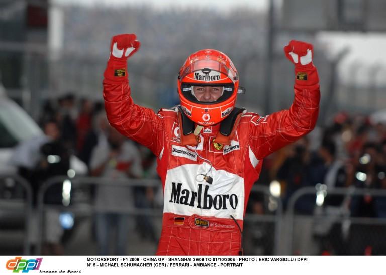 Képgaléria Schumacher rendkívül érzelmes utolsó F1-es győzelméről: ma 10 éve