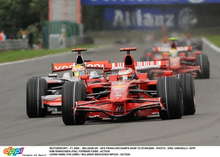 """Massa és a """"botrányos"""" győzelme Spa-ban Hamilton ellen: ma 8 éve"""