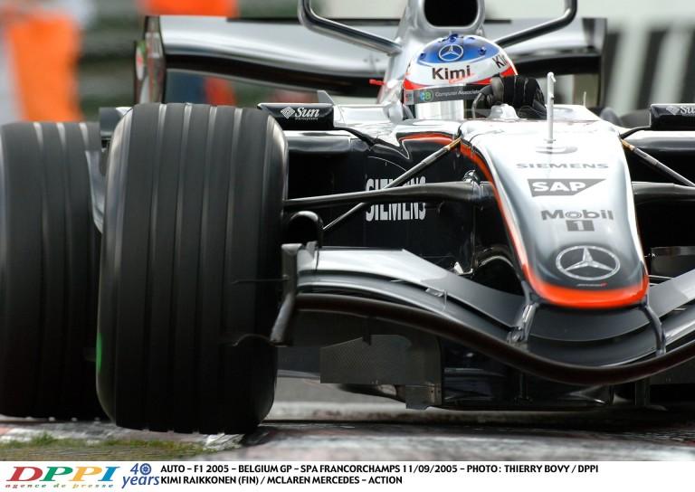 Raikkönen-győzelem a McLarennel Spa-ban 11 évvel ezelőtt
