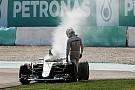 Mercedes no encuentra correlación en la falla de Hamilton