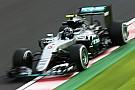 Rosberg completó el viernes por delante de Hamilton