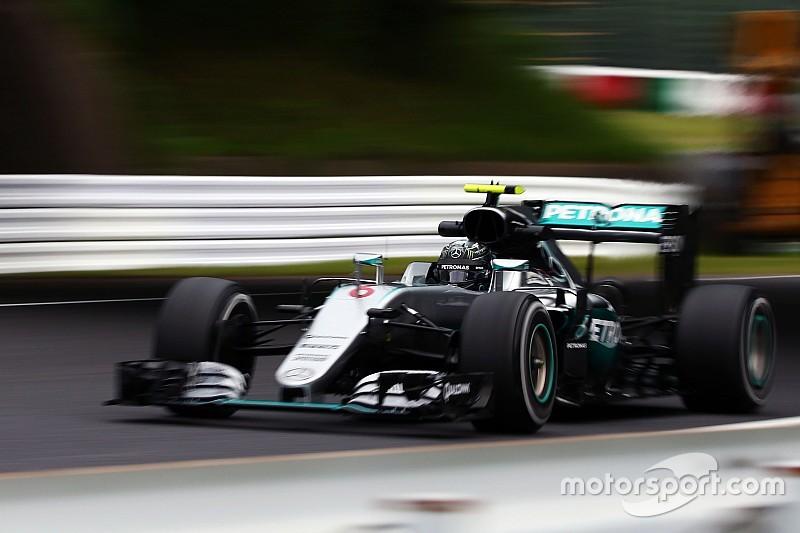 Formel 1 in Suzuka: Nico Rosberg auch auf abtrocknender Strecke vorn