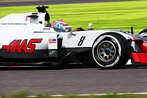 Formule 1 Réactions Grosjean en Q3 -