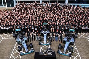 F1 Noticias de última hora Mercedes celebra su tercer título de Constructores